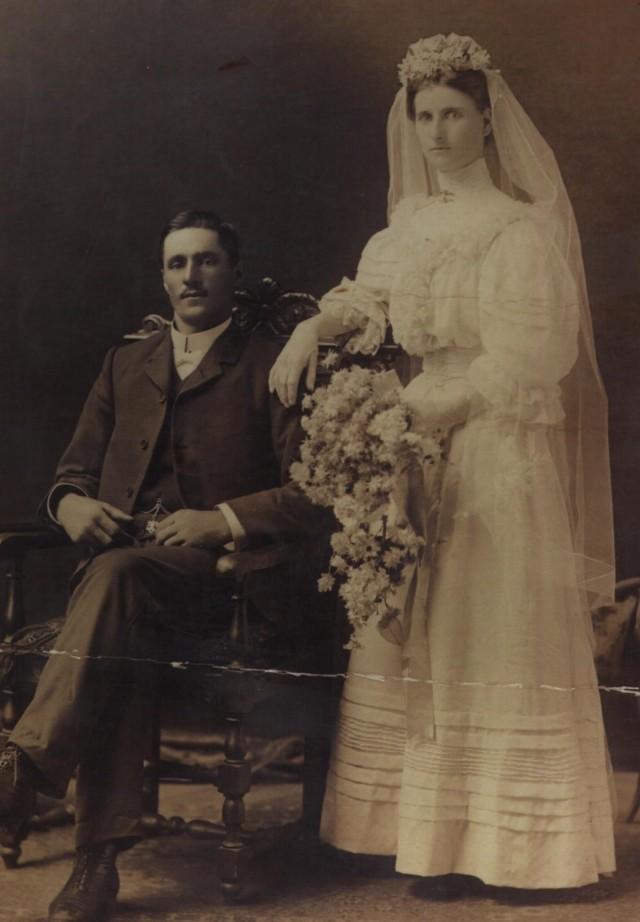 Barbara Elizabeth Anderson and Victor Elias Allen; 1908.
