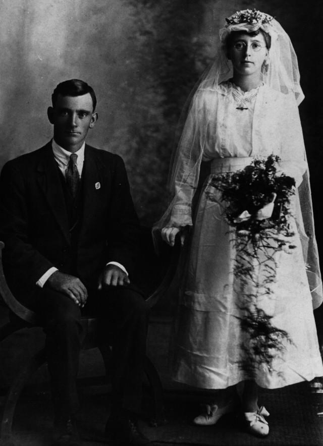 Joseph Samuel Anderson and Helen Ada Muggleton; at Bonville, NSW on 22nd December 1919