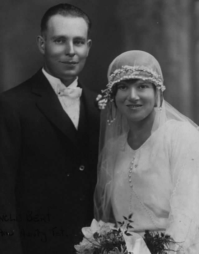 Bert & Tot Layton, taken 26th March 1930