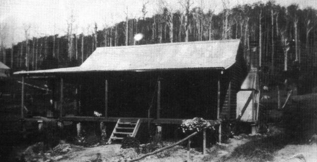 Frank & Linda's first home at Red Hill, near Coffs Harbour. (c. 1926)