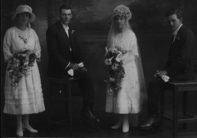 Violet Layton, Samuel John Bettens, Ivy Maggie Bettens and Joseph Charles Walter Bettens.